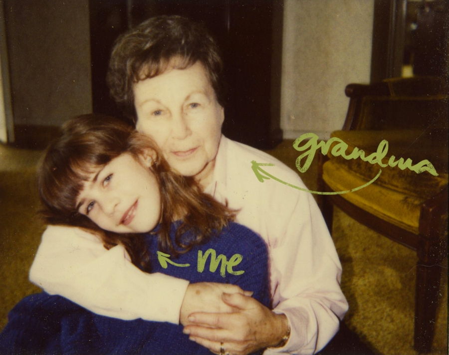 me&grandma