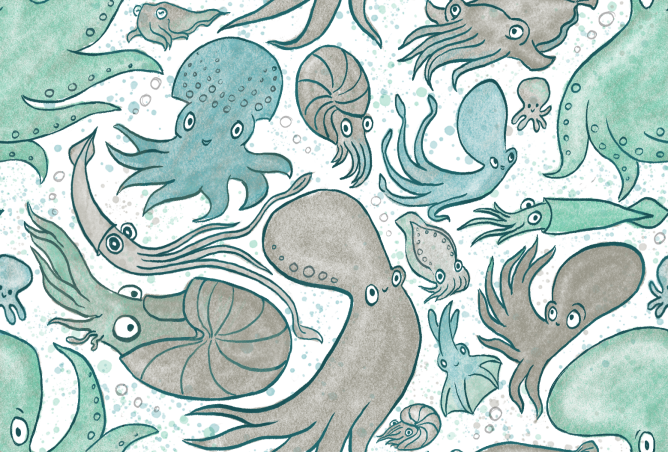 cephalopods_pattern_block
