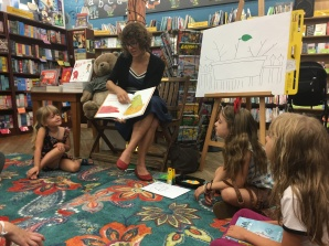 Storytime at Brookline Booksmith
