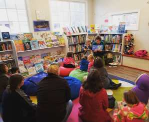 Storytime at The Silver Unicorn Bookstore